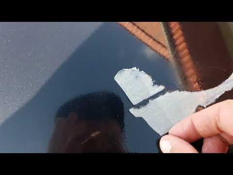 Как убрать малярный скотч со стекла