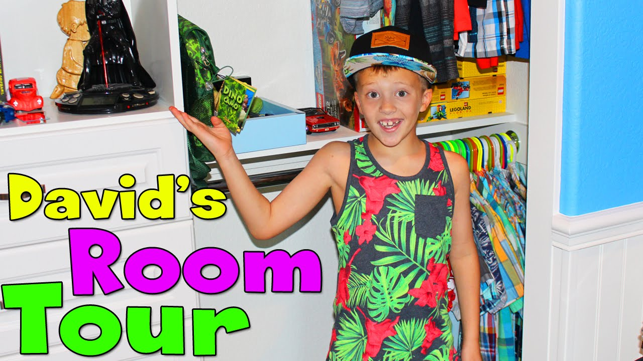 Davids Room Tour