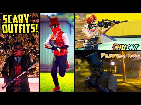 GTA Online FASHION FRIDAY! (The Scariest Outfits & Costumes)