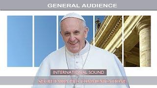 Una delegazione del Comune all'Udienza generale del Papa
