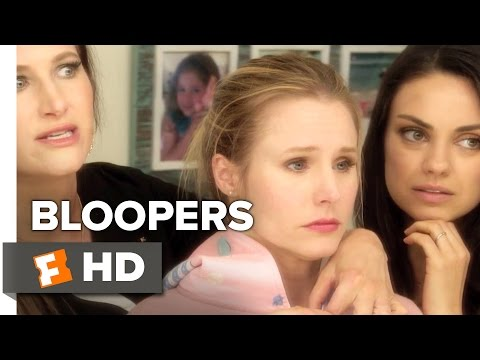 Bad Moms Bloopers (2016) - Mila Kunis Movie