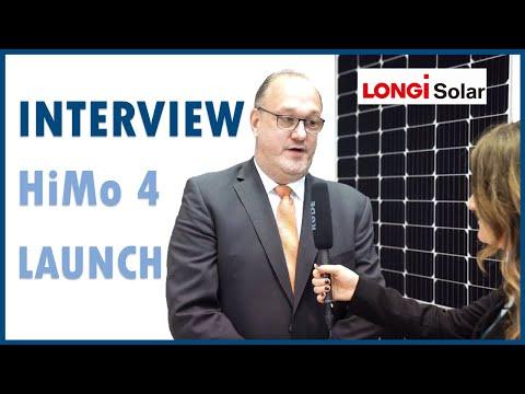 pv magazine Longi Solar HiMo 4 Launch at Intersolar Europe 2019