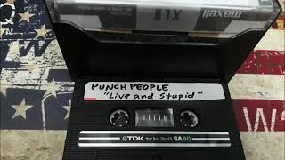 Punch People-Live and Stupid-Tape 1995
