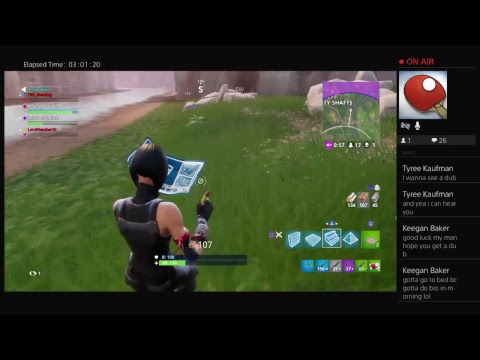 Bigmitch1015 FORTNITE GAMEPLAY--SHOOTING TEST #1