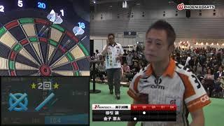 【2017 PERFECTツアー 第34戦 横浜 男子3回戦】金子憲太 VS 櫛引譲
