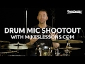 Drum Mic Shootout with Mike Johnston of MikesLessons.com