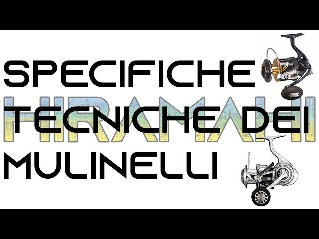 Le specifiche tecniche dei mulinelli per spinning, shore jigging, light spinning e lrf - parte 1