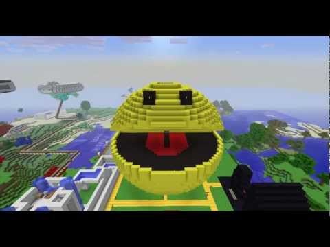 The 3D Pacman & The Old Builds Minecraft
