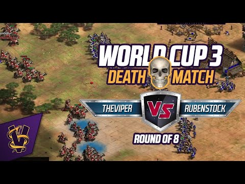 DeathMatch World Cup 3 - Round of 8 - TheViper vs Rubenstock