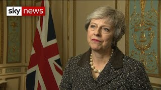 Theresa May sees 'shared determination' with EU to solve backstop fears