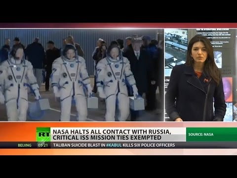 NASA is latest victim in Crimea fallout