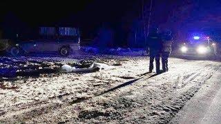 Муж жену погубил, высадив из такси на тёмной трассе