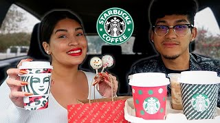 Trying Out The STARBUCKS 2019 HOLIDAY/CHRISTMAS MENU: Drinks + Treats