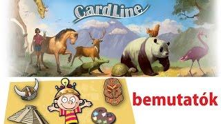 Cardline és Brainbox - társasjáték bemutatók