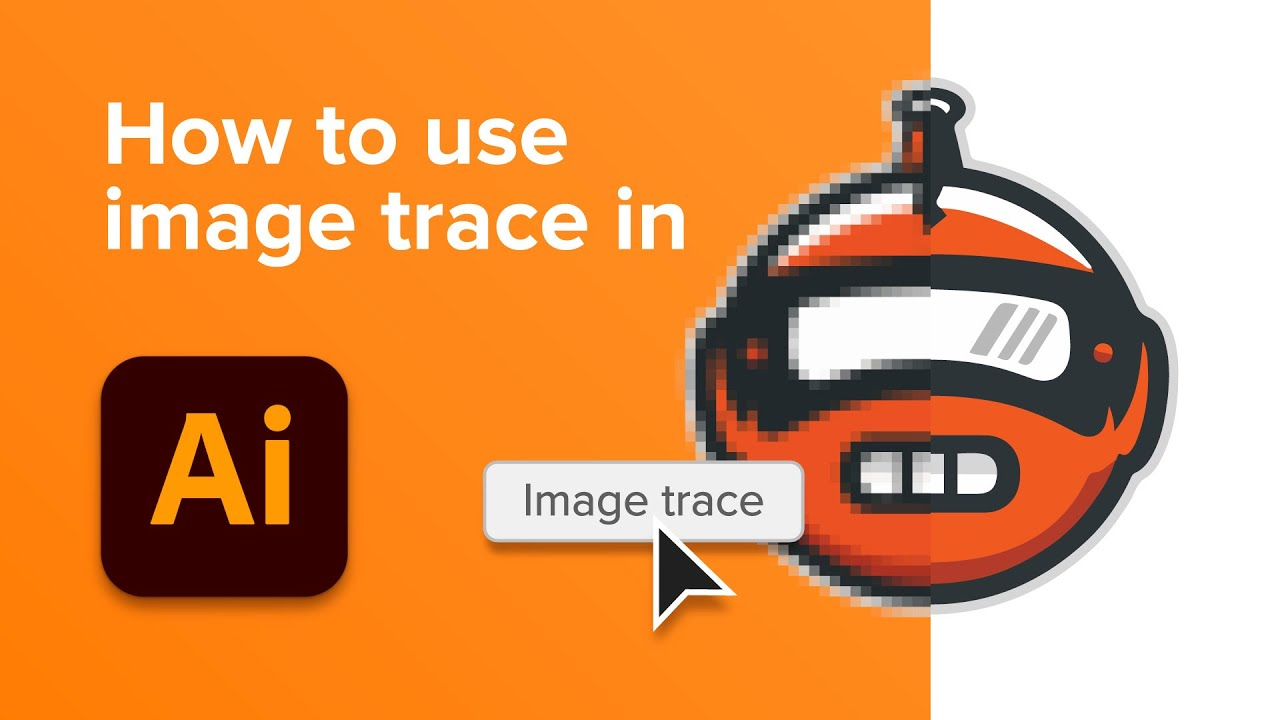 How to use Image Trace in Adobe Illustrator | Blog | Sticker