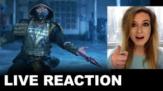Mortal Kombat Trailer REACTION - 2021 Theaters & HBO Max