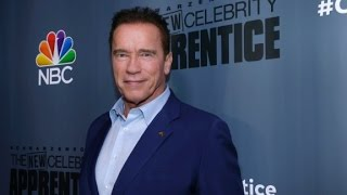 Schwarzenegger: I think Trump is love with me