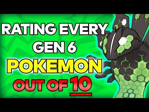rating all generation 6 pokémon out of 10 pokemon