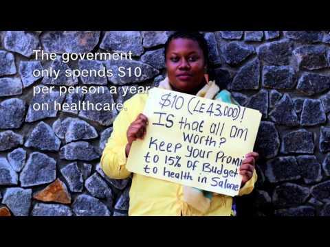 Sierra Leone Healthcare Crisis