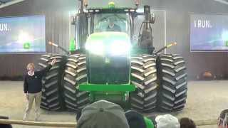 620hp John Deere 9620R revealed