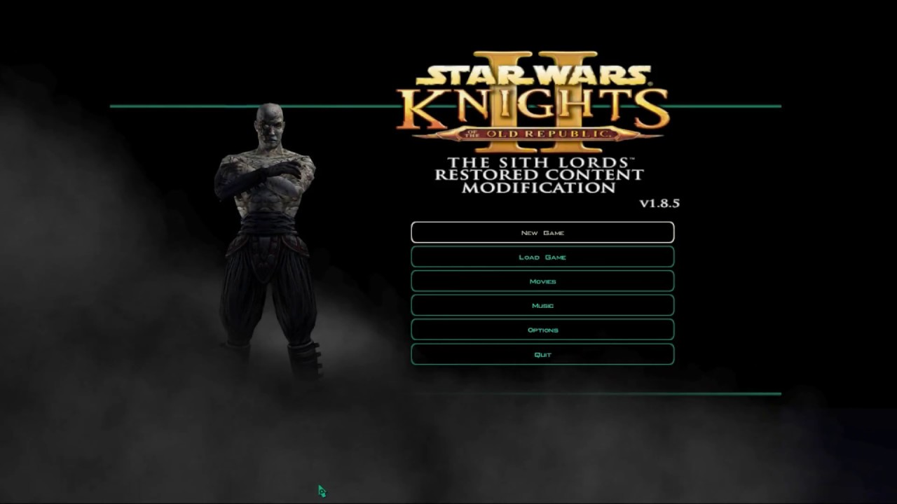 KOTOR 2: The Sith Lords | Character Creation