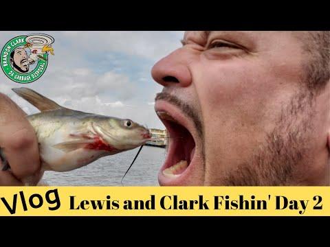 vlog-|-lewis-and-clark-|-tosha-and-i-go-fishing-|-day-2-0f-2