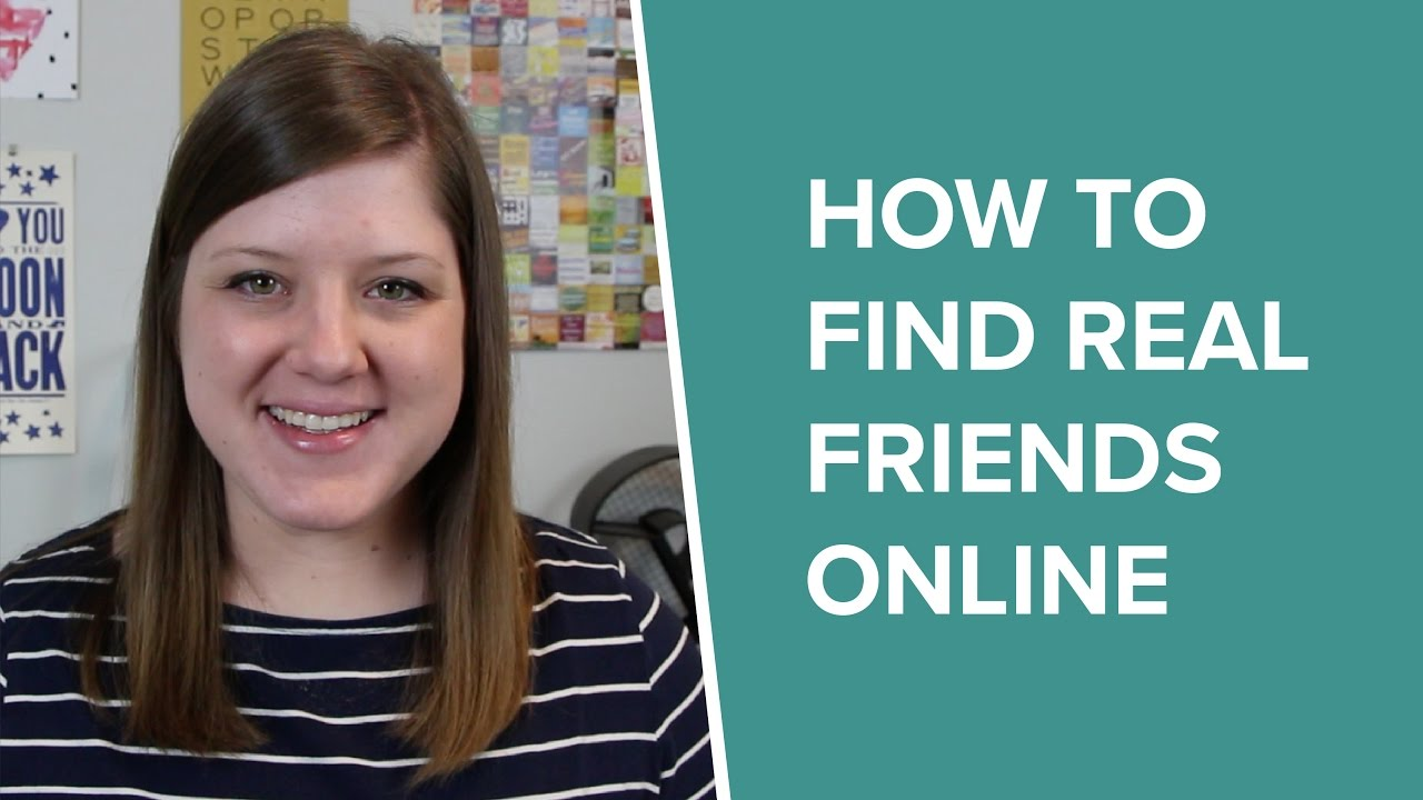 How to get new friends online