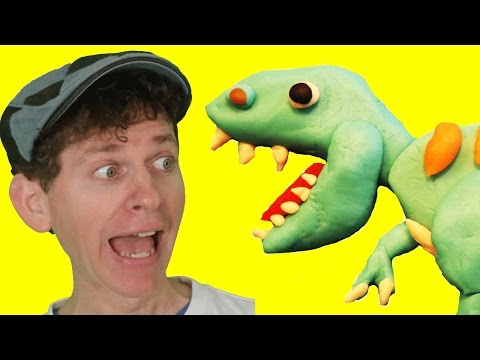 Walk Like a Dinosaur with Matt | Fun Children