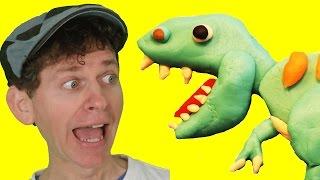 Walk Like a Dinosaur with Matt | Fun Children