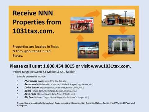 View NNN property in Texas  NNN triple net lease property for investors & 1031 exchange