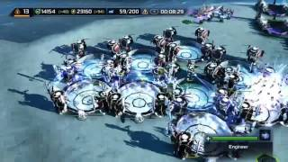Supreme Commander 2 match with friends (Xbox 360)