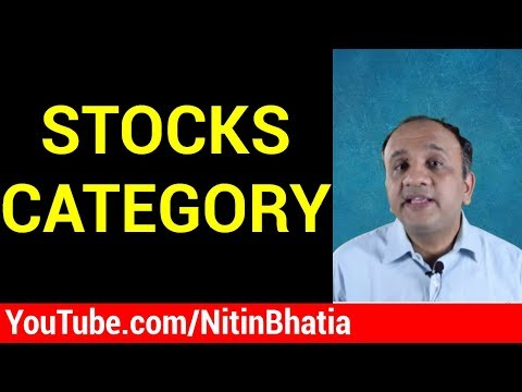Stocks Category - Group Classification by NSE and BSE (Hindi)