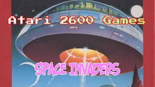 Space Invaders TV Game 2600 Compatible