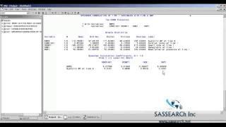SAS Online Training   Statistics Tests in SAS