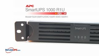 rbc34 battery replacement for apc smartups 1000 r1u