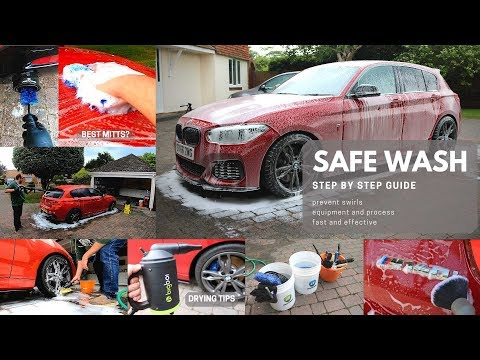 How to Detail and Wash your Car Safely - Products & Process For Professional Results