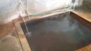 塩原温泉古式湯まつりでご好意の解放。