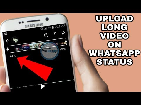 How To Post More Then 30 Seconds Video On Whatsapp Status