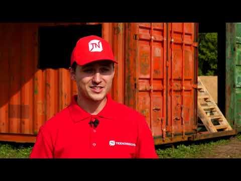 видео: Современное строительство. Выпуск 2.Подготовка площадки и работы по монтажу морских контейнеров.