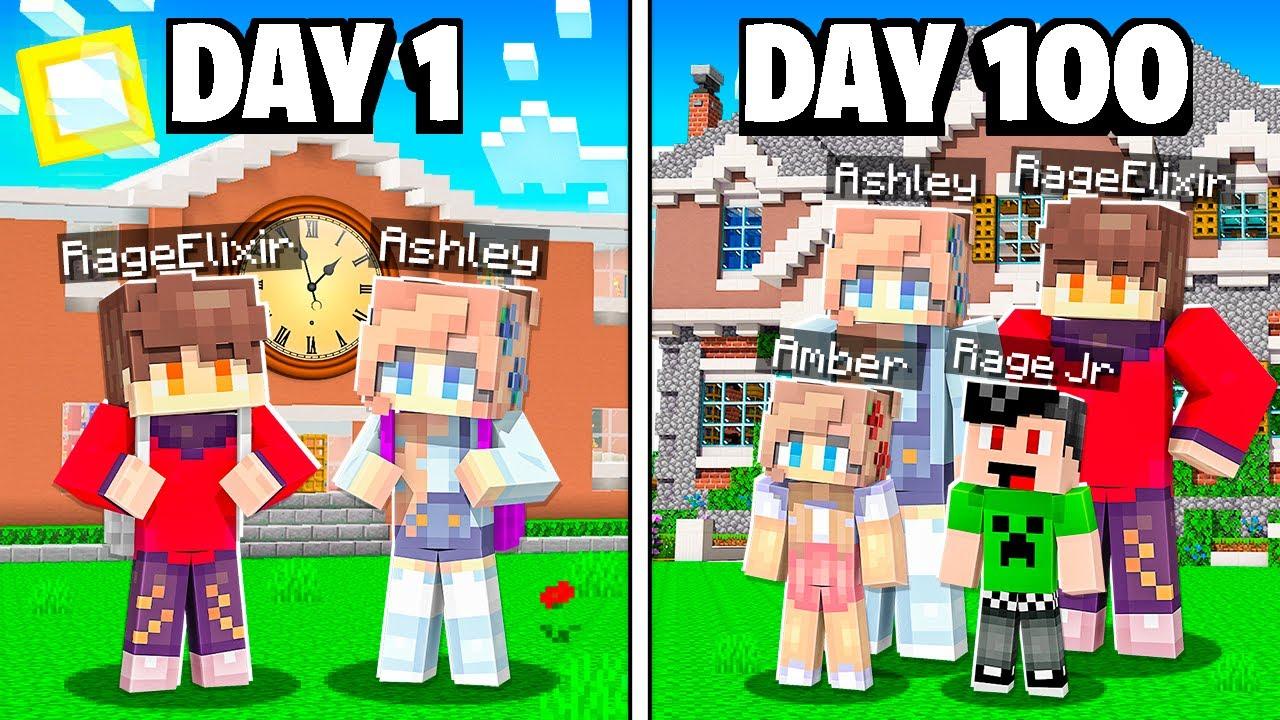 Download I Survived 100 Days in Minecraft Block City