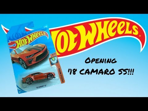 Opening a NEW CASTING '18 Camaro SS from HOT WHEELS Muscle Mania Series!
