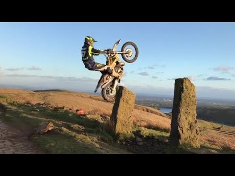 Young Gun in The World Enduro Super Series (WESS) - Billy Bolt #57