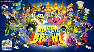 Super Brawl 4 - Story Mode: Donatello As Dash Coolstar (Nickelodeon Games)