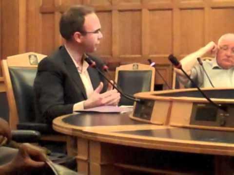 Gavin Barwell MP summarising a public meeting on equal civil marriage