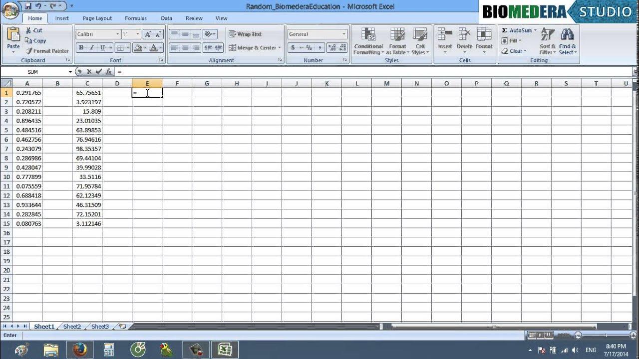 [Kỹ năng mềm NCKH] Cách sử dụng hàm random (chọn số ngẫu nhiên) trong Excel và phương pháp thay thế