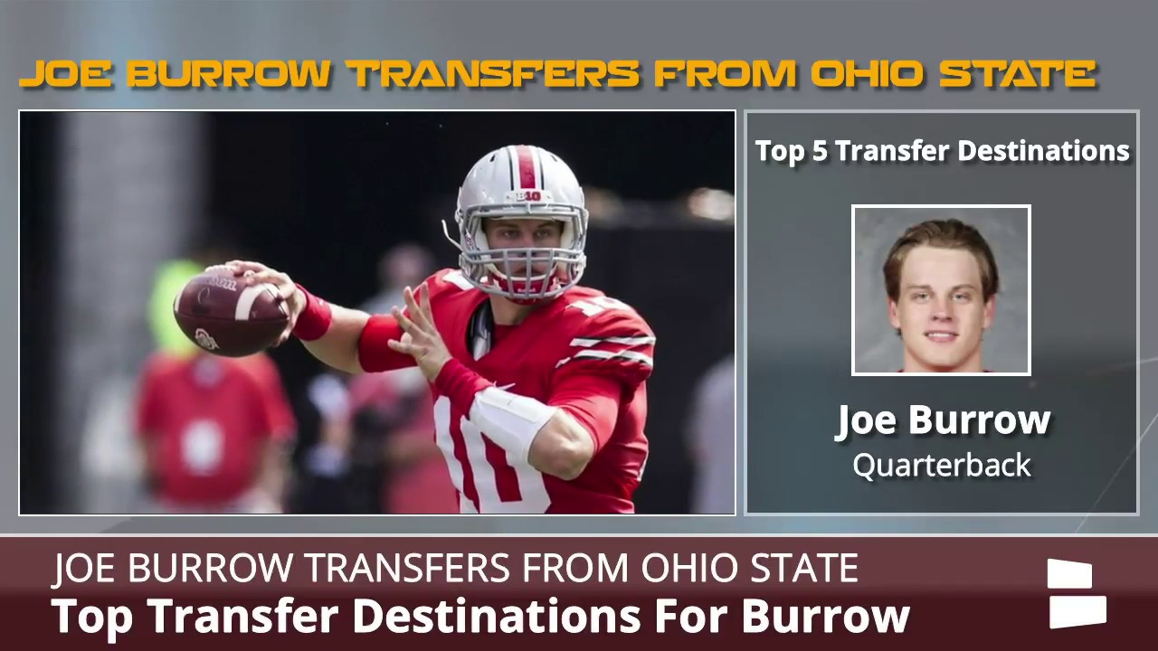 Joe Burrow Ohio State: When Did LSU QB Transfer From OSU?