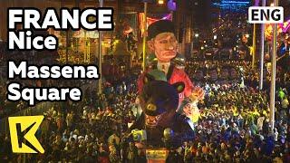 【K】France Travel-Nice[프랑스 여행-니스]마세나 광장, 빛의 카니발/Massena Square/Light/Carnival Parades/Huge Doll