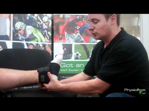 PhysioRoom.com Adjustable Soccer Ankle Support - SM032