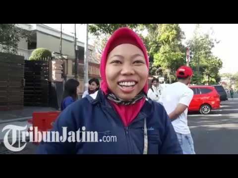 Pengenalan E Money untuk E Parking di Jalan Sedap Malam Surabaya