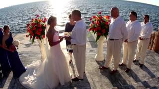 Tara & Jeffrey Wedding Ceremony at Ca'd Zan in Sarasota